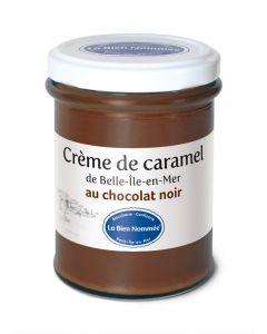 Crème de caramel au chocolat noir - Pot de 220g